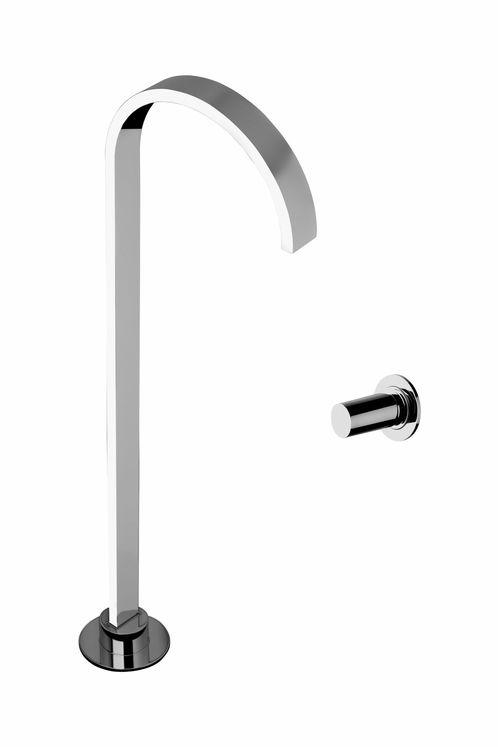 mitigeur lavabo 2 trous chrom col de cygne arco sarodis. Black Bedroom Furniture Sets. Home Design Ideas