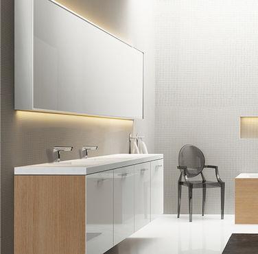Les rangements dans une salle de bain