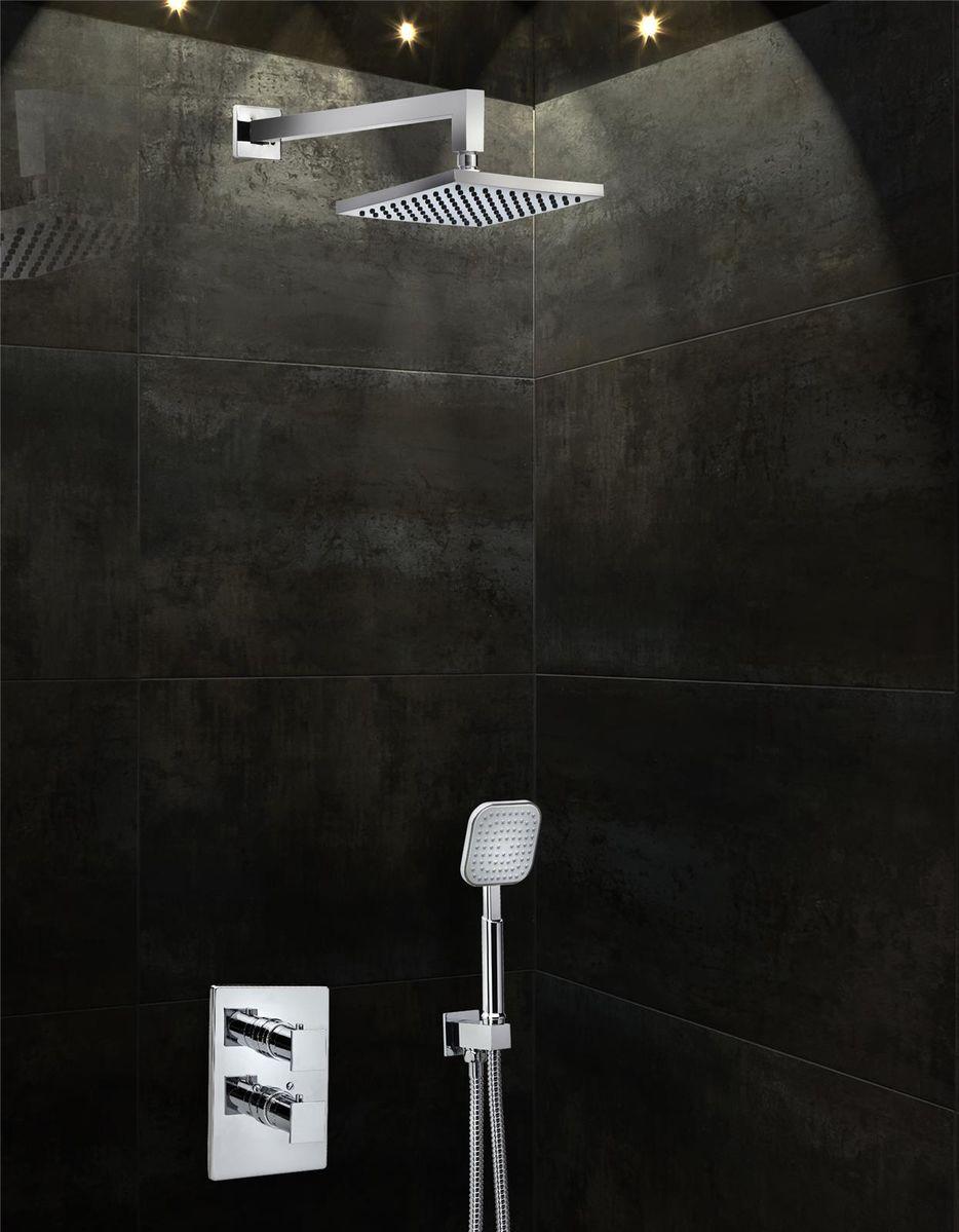 colonne de douche encastrable idéale dans une petite salle de bain