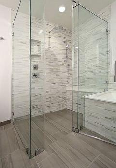 porte battante douche