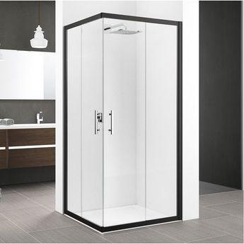 paroi douche avec profilés