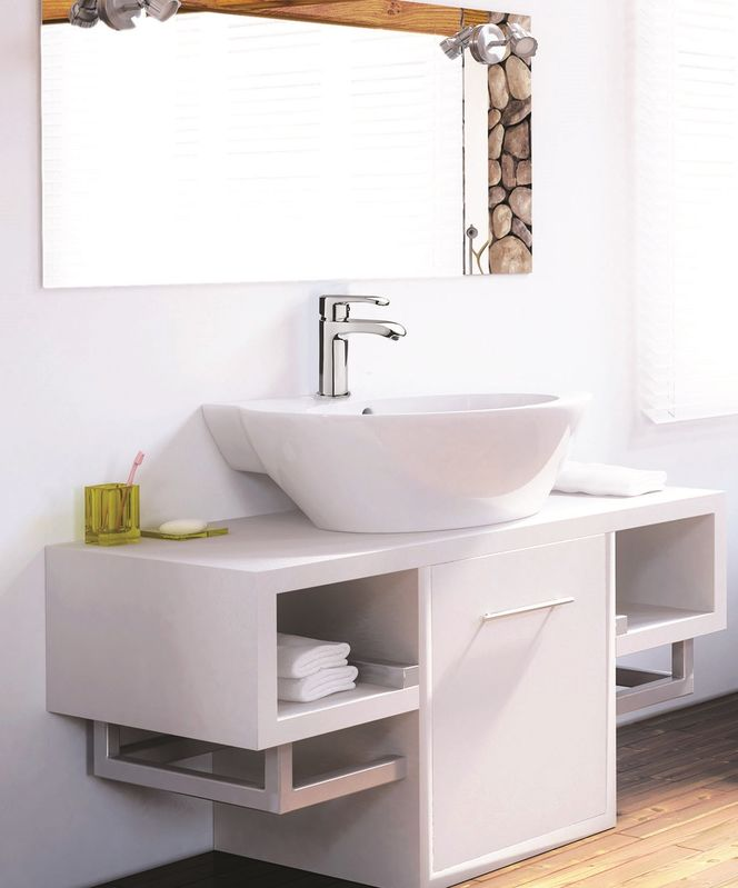 mitigeur de lavabo bec cascade dyva. Black Bedroom Furniture Sets. Home Design Ideas