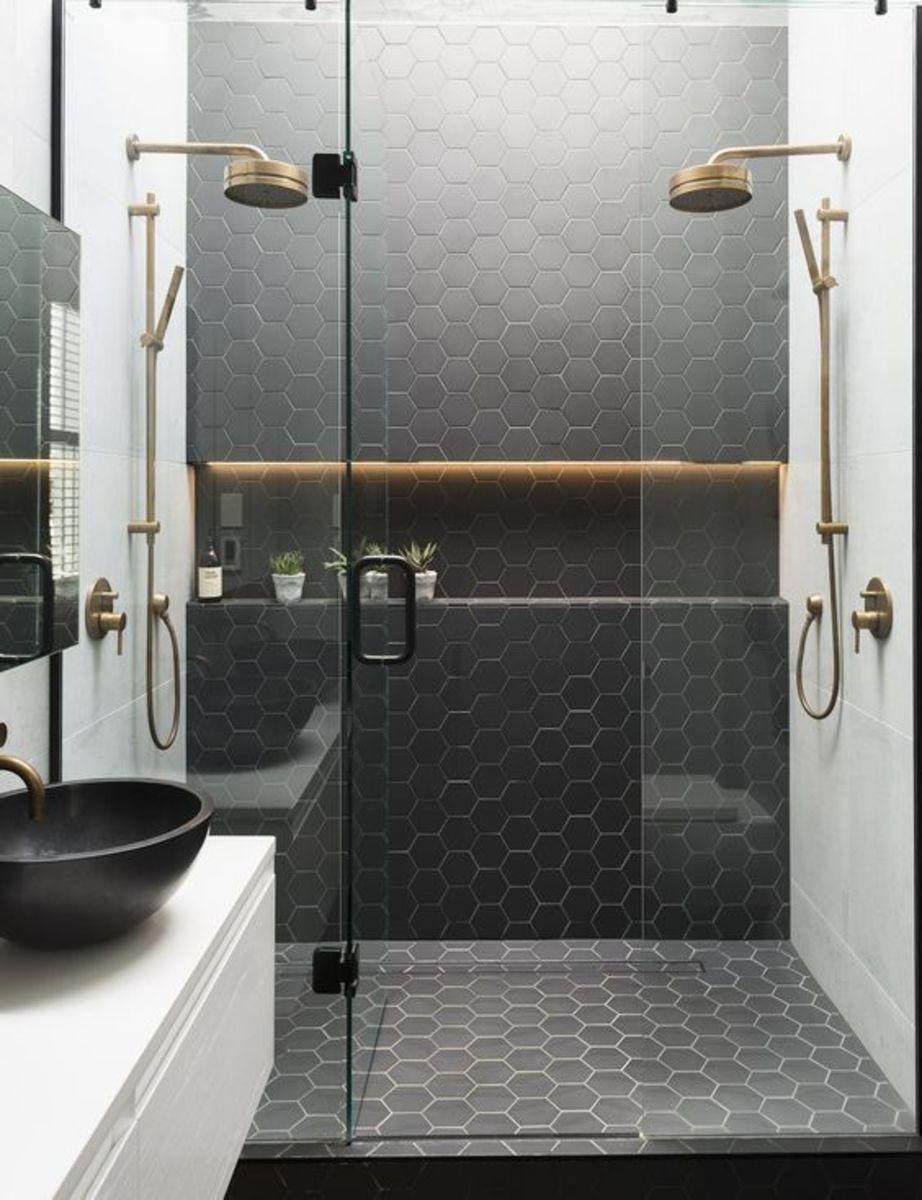 tendance dans la salle de bain la douche l italienne sarodis. Black Bedroom Furniture Sets. Home Design Ideas