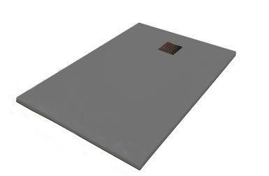 Pack receveur de douche 80x120cm gris finition b ton - Kit receveur douche italienne ...