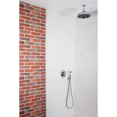 colonne de douche encastrable plafond et ronde r tro compl te avec mitigeur 2 fonctions napoli. Black Bedroom Furniture Sets. Home Design Ideas