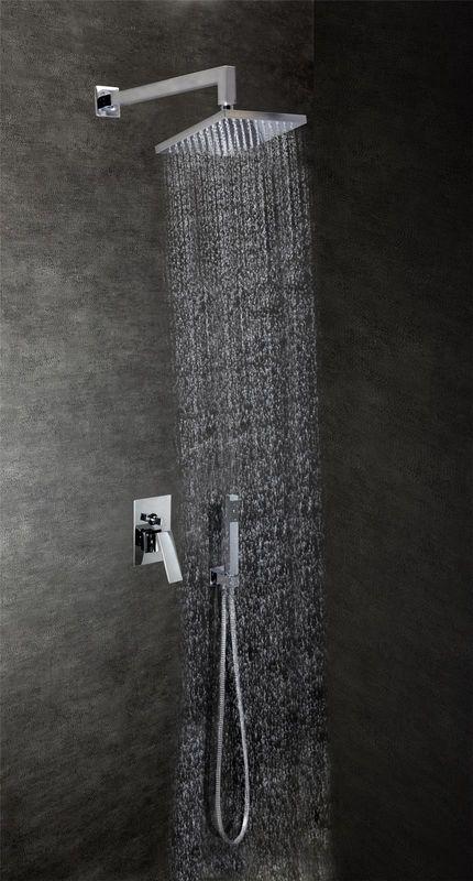 mitigeur de douche encastrable carr deux fonctions. Black Bedroom Furniture Sets. Home Design Ideas