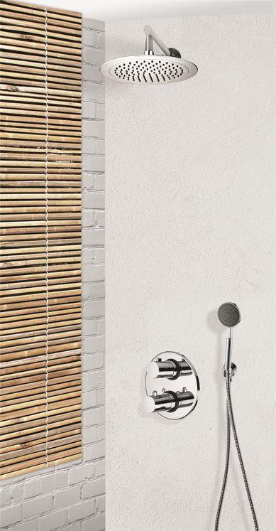 colonne de douche encastrable avec thermostatique 2. Black Bedroom Furniture Sets. Home Design Ideas